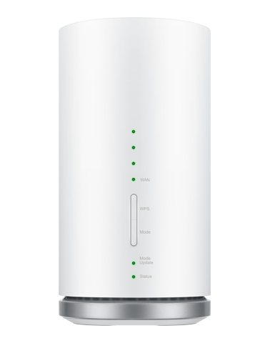 auの置くだけWiFiのルーターspeed-wi-fi-home-l01s